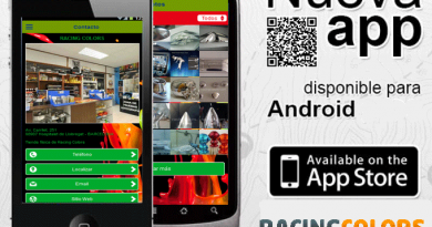 Nueva App de Racing Colors