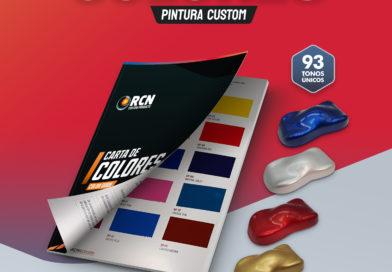 Nueva Carta de Colores RCN Custom Paints